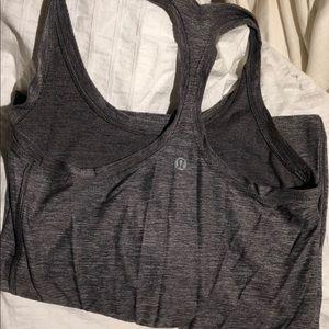 Lulu grey workout tank